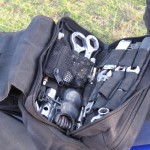 What's needed on every ride; a well organized tool kit (dennis').