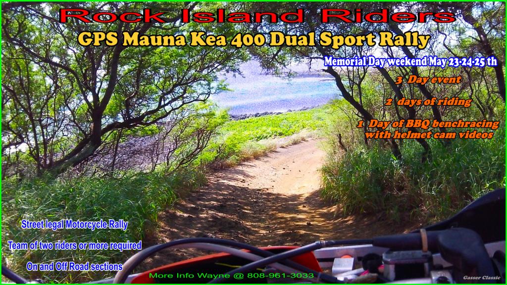 GPS Mauna Kea 400